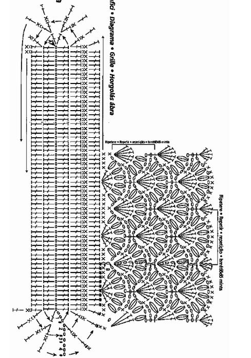 Вязание крючком. Схемы (10) (489x700, 112Kb)