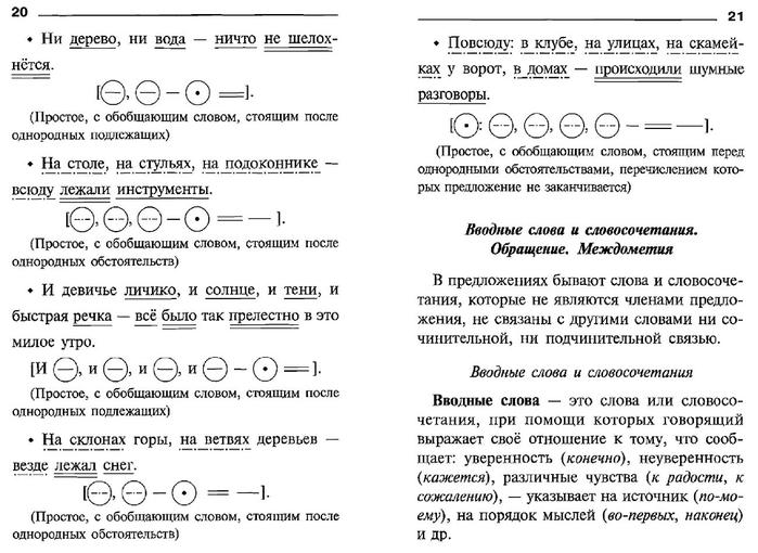 Как составлять пунктуационные схемы предложений