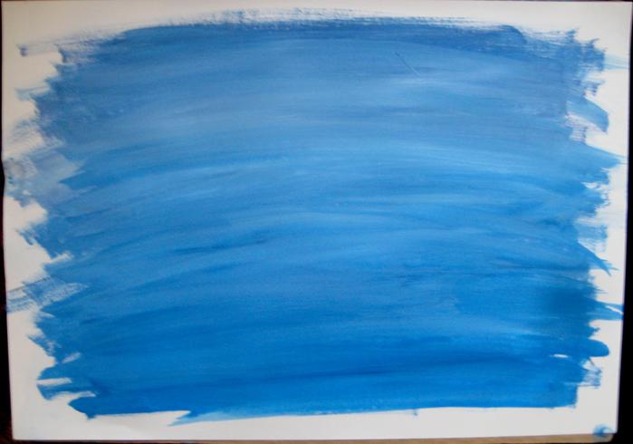 Как гуашью нарисовать облака 154