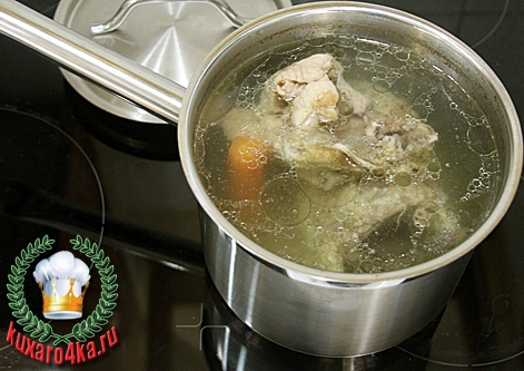 Как варить бульон курица