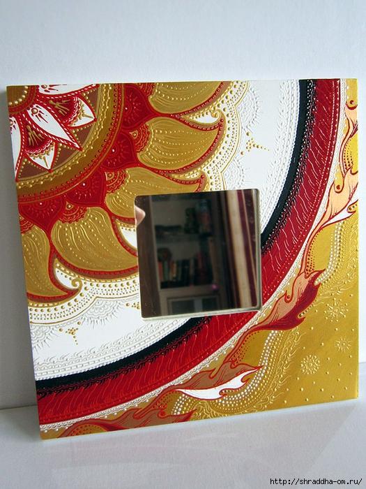 зеркало с вешалкой, автор Shrsddha (2) (525x700, 353Kb)