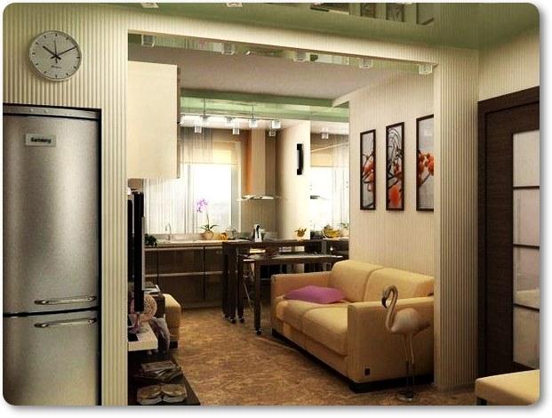 кухни в маленькой квартире фото