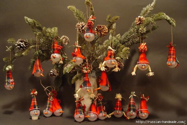 Забавные елочные игрушки из лампочек. Мастер-классы (20) (635x424, 144Kb)