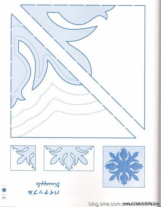 ГАВАЙСКИЙ КВИЛТ. Японский журнал со схемами (16) (535x690, 147Kb)