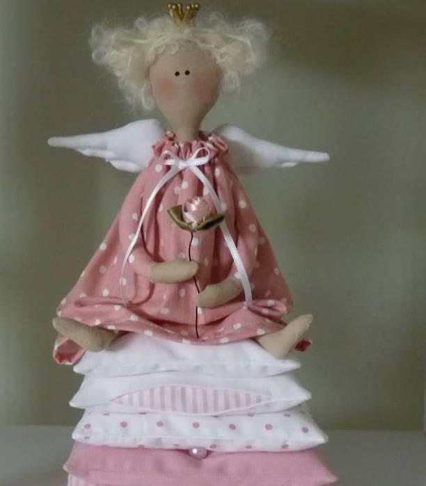 Кукла тильды принцесса на горошине выкройка