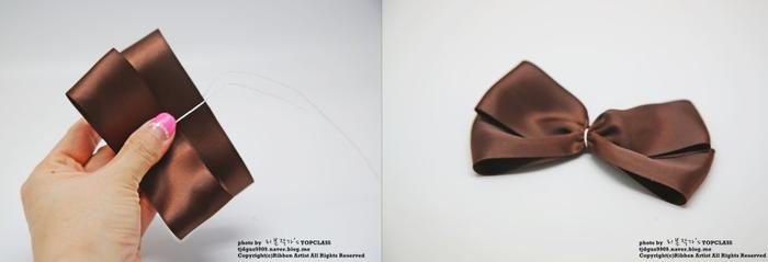 Бантик и бабочка а-ля Burberry. Украшения своими руками (5) (700x239, 118Kb)