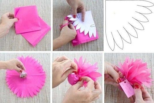 Как красиво упаковать объемный подарок своими руками 90