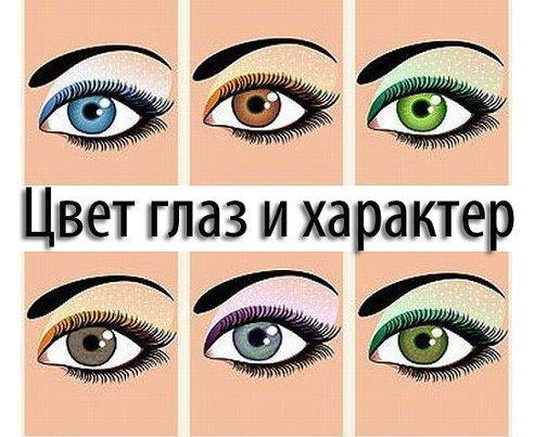 По цвету глаз