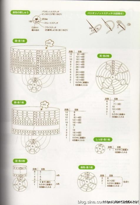 Игрушки АМИГУРАМИ крючком. Журнал со схемами (19) (476x700, 228Kb)