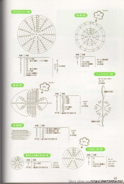 Игрушки АМИГУРАМИ крючком. Журнал со схемами (23) (472x700, 214Kb)