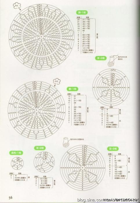 Игрушки АМИГУРАМИ крючком. Журнал со схемами (36) (483x700, 251Kb)