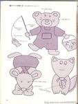 Превью Аппликация с вышивкой для детских вещей. Японский журнал (47) (528x700, 201Kb)