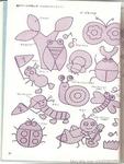 Превью Аппликация с вышивкой для детских вещей. Японский журнал (53) (528x700, 239Kb)