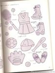 Превью Аппликация с вышивкой для детских вещей. Японский журнал (64) (528x700, 202Kb)