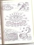 Превью Аппликация с вышивкой для детских вещей. Японский журнал (70) (528x700, 276Kb)