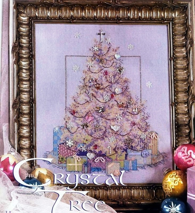 Crystal Tree (641x700, 337Kb)