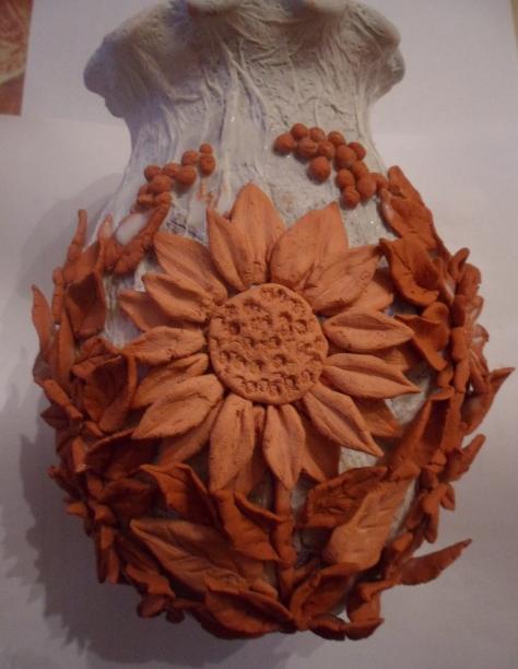 Декорирование вазочки самозатвердевающей массой керапласт (4) (474x612, 581Kb)