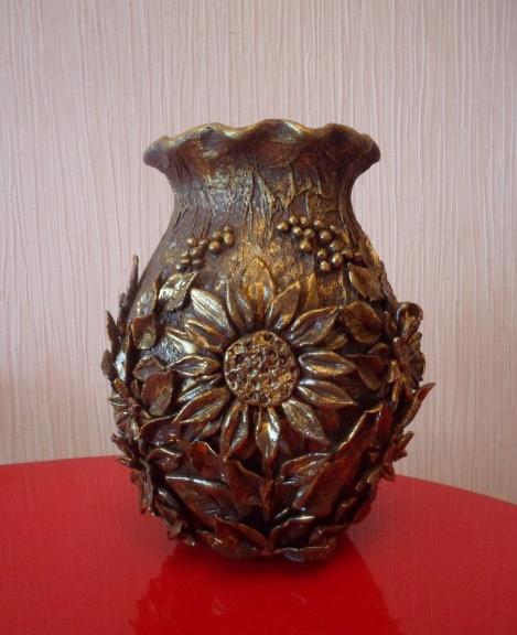 Декорирование вазочки самозатвердевающей массой керапласт (6) (469x576, 547Kb)