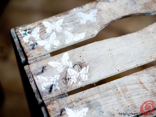 Деревянный ящик в интерьере (12) (530x398, 126Kb)