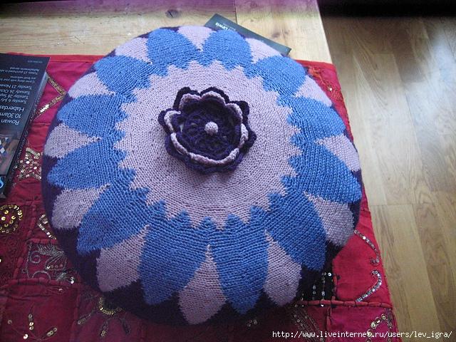 钩针:万花筒抱枕和毯子 - maomao - 我随心动