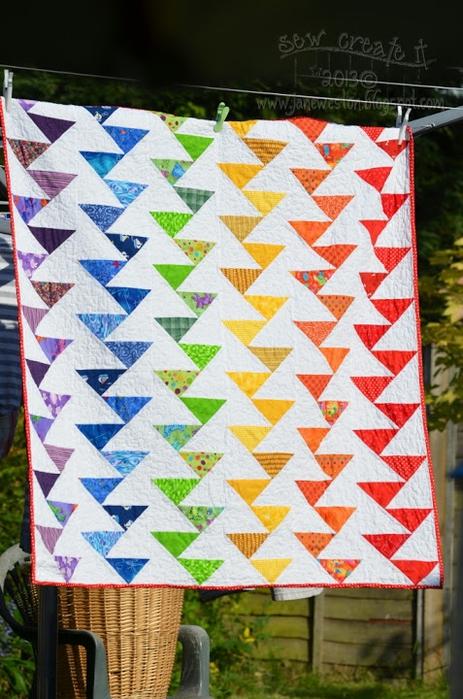 Одеяло радуги