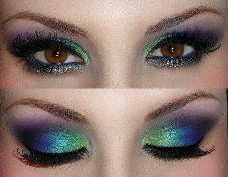 Pictures of eye makeup