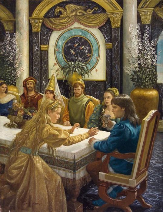 Волшебная сказка продолжается с иллюстрациями Ruth Sanderson!
