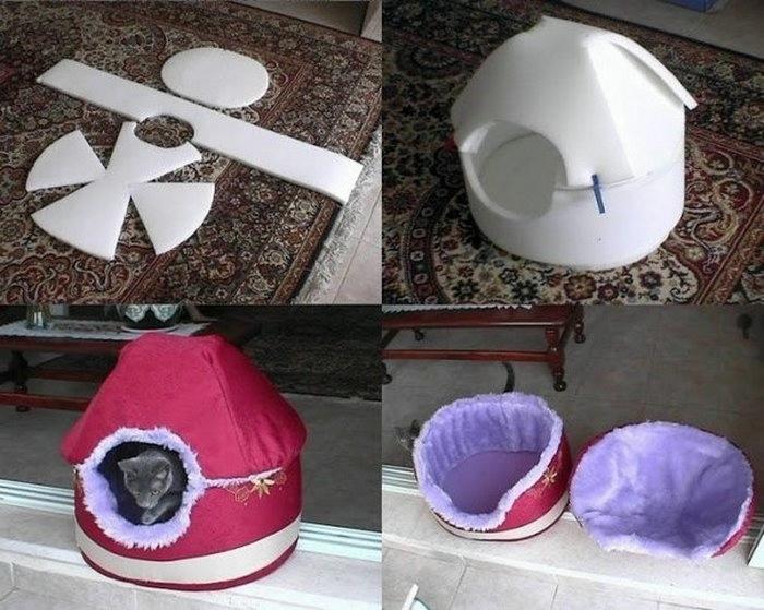 Все для кошек своими руками из коробки - Savvinka.ru