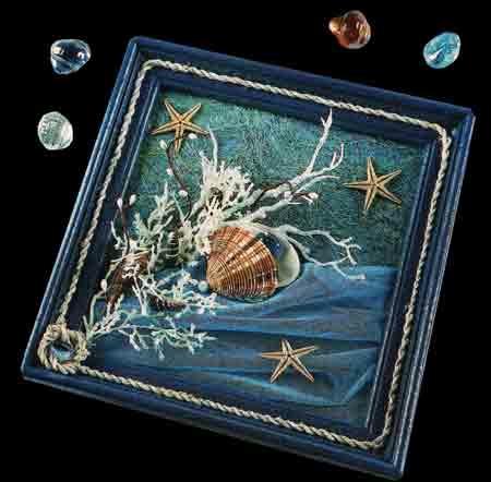 Сувенир о море своими руками