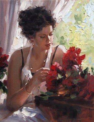 портрет женщины (308x400, 28Kb)