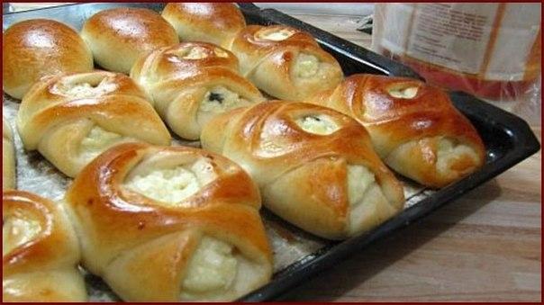 пирожки с постного дрожжевого теста (604x339, 118Kb)