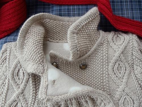 Пальто с аранами для девочки до 4-х лет (7) (500x375, 170Kb)