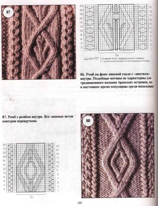 Пальто с аранами для девочки до 4-х лет (9) (535x700, 271Kb)