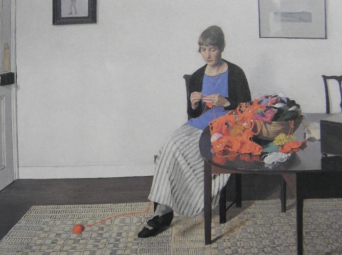 Coloured Wools 1919 (700x521, 203Kb)