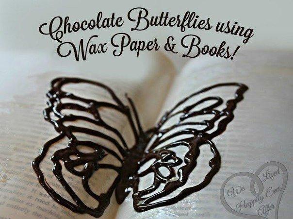 шоколадная бабочка (604x451, 219Kb)