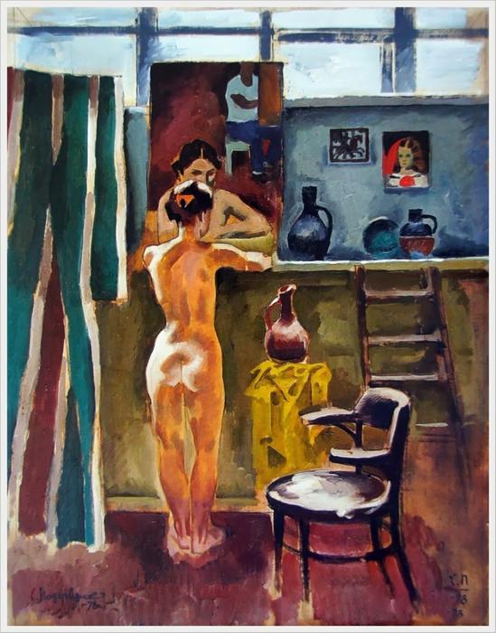 Эротика в советском изобразительном искусстве