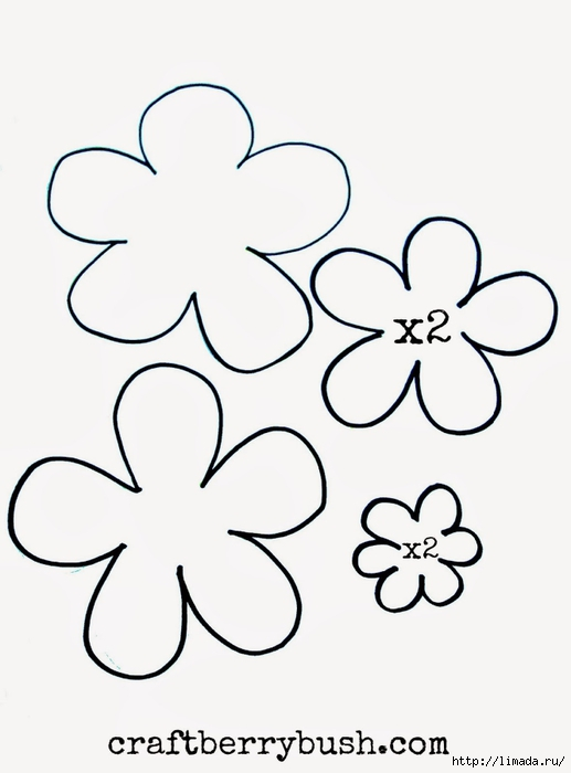 flowertemplatecraftberrybush (517x700, 113Kb)
