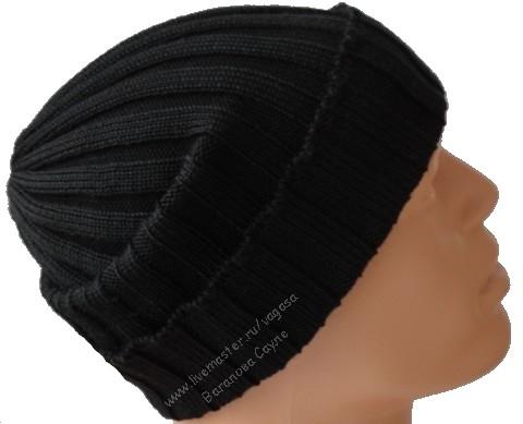 черная мужская шапка-носок  (480x389, 79Kb)