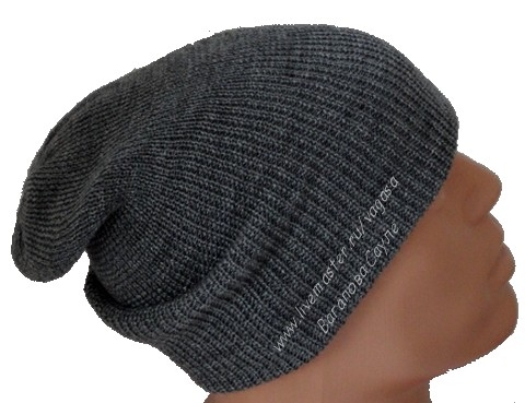 шапка-чулок машинным вязанием  (480x369, 117Kb)