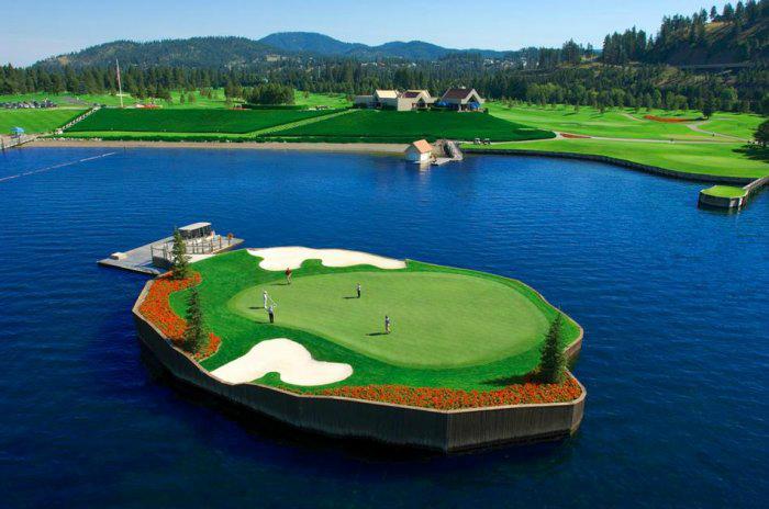 гольф-клуб Coeur d'Alene Resort 1 (700x464, 247Kb)
