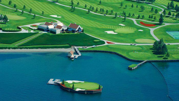 гольф-клуб Coeur d'Alene Resort 5 (700x394, 238Kb)