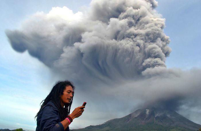 вулкан синабунг индонезия фото 3 (700x459, 146Kb)