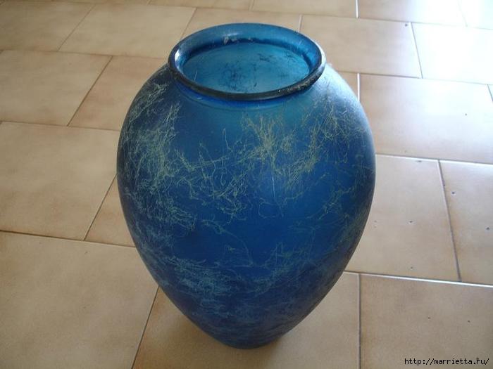 Как сделать вазу своими руками из папье маше