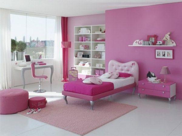 Дизайн интерьера. Комната для девочки-подростка (3) (600x449, 96Kb)
