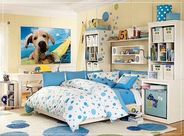 Дизайн интерьера. Комната для девочки-подростка (5) (600x442, 175Kb)
