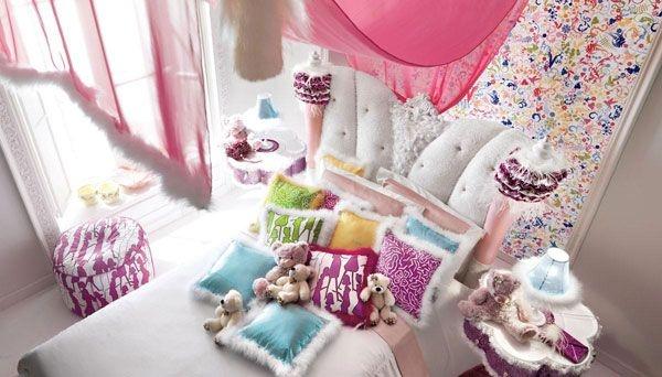 Дизайн интерьера. Комната для девочки-подростка (11) (600x342, 135Kb)