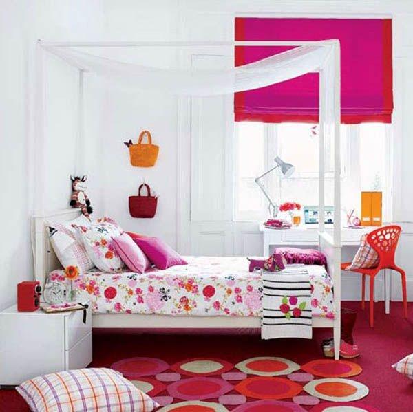 Дизайн интерьера. Комната для девочки-подростка (13) (600x599, 146Kb)
