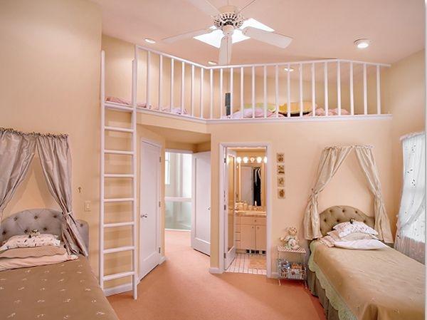 Дизайн интерьера. Комната для девочки-подростка (31) (600x449, 114Kb)