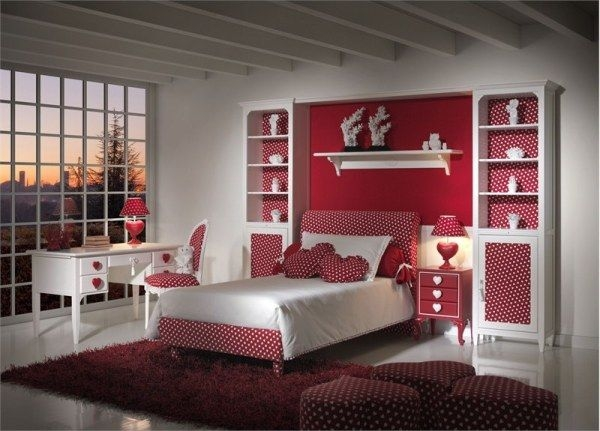 Дизайн интерьера. Комната для девочки-подростка (37) (600x431, 150Kb)