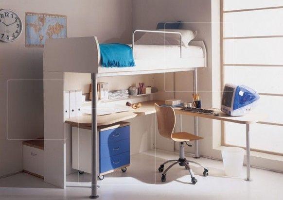 Дизайн интерьера. Комната для девочки-подростка (39) (582x412, 90Kb)